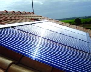 Capteur solaire plan pour chauffe eau